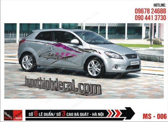 Tem Xe ô tô 4 chỗ - 006