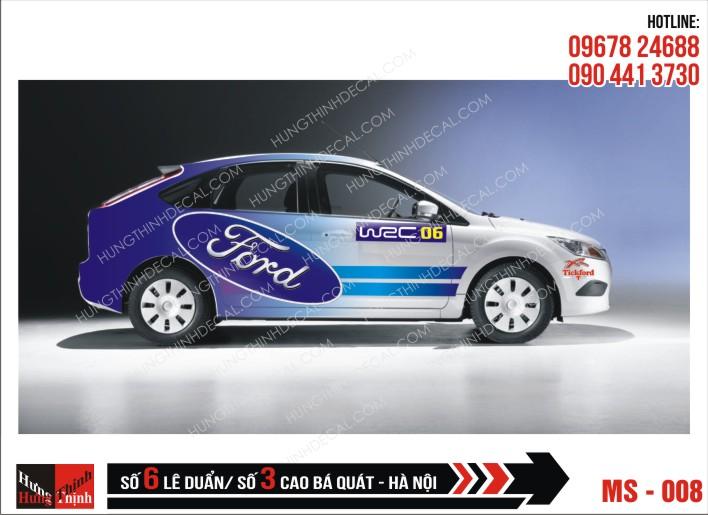 Tem Xe ô tô 4 chỗ - 008