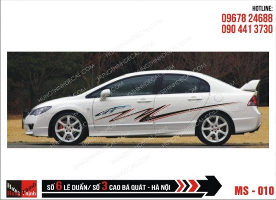 Tem Xe ô tô 4 chỗ - 010