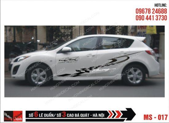 Tem Xe ô tô 4 chỗ - 017