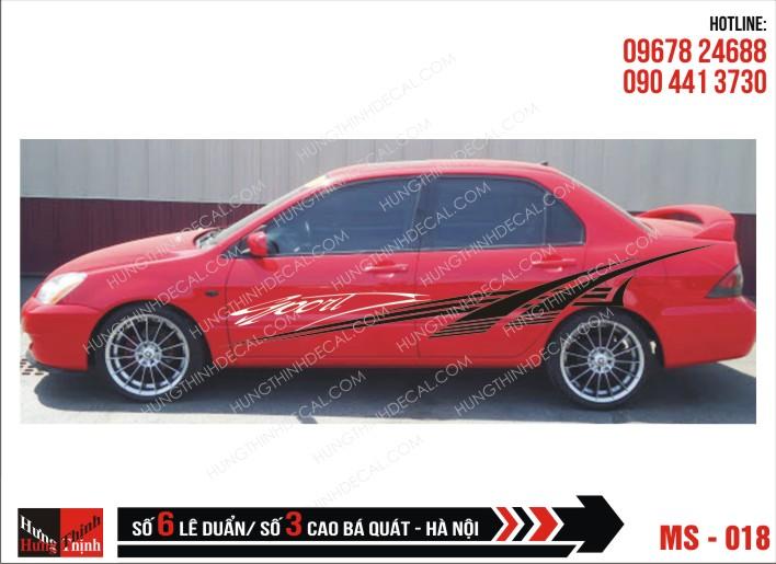 Tem Xe ô tô 4 chỗ - 018