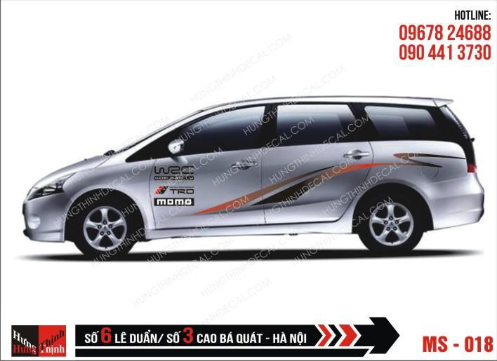 Tem Xe Ô Tô 7 Chỗ - 018