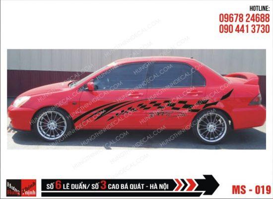 Tem Xe ô tô 4 chỗ - 019