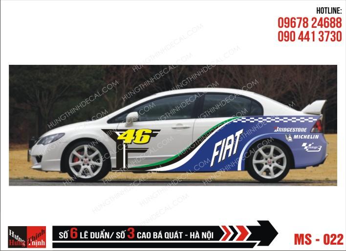 Tem Xe ô tô 4 chỗ - 022