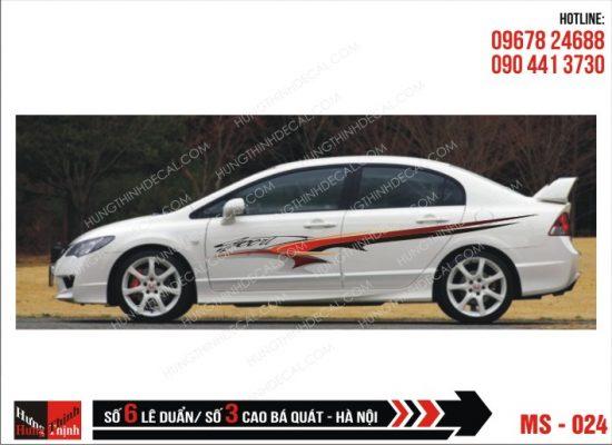 Tem Xe ô tô 4 chỗ - 024