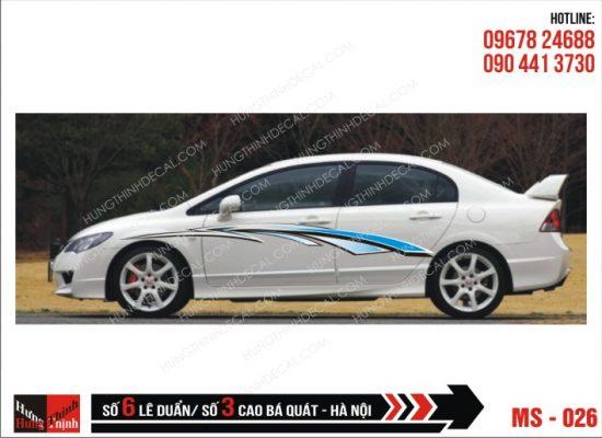 Tem Xe ô tô 4 chỗ - 026