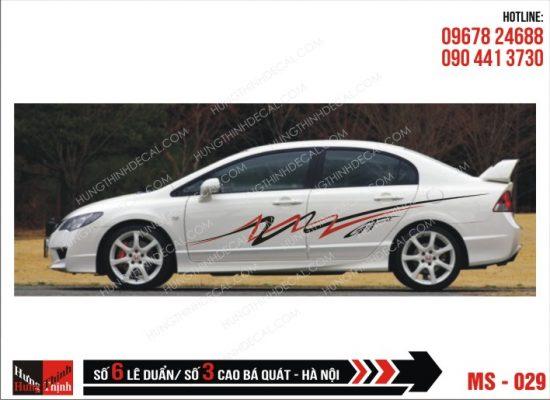 Tem Xe ô tô 4 chỗ - 029