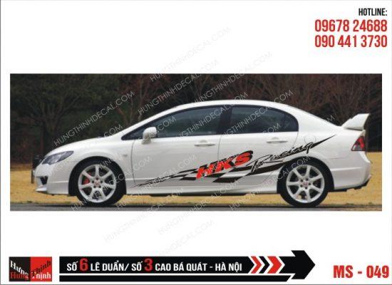 Tem Xe ô tô 4 chỗ - 049