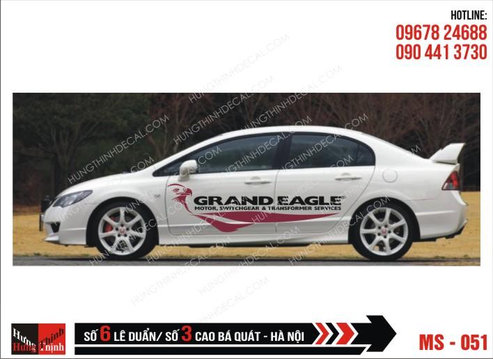 Tem Xe ô tô 4 chỗ - 051