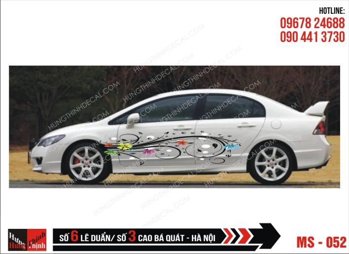 Tem Xe ô tô 4 chỗ - 052