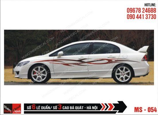 Tem Xe ô tô 4 chỗ - 054