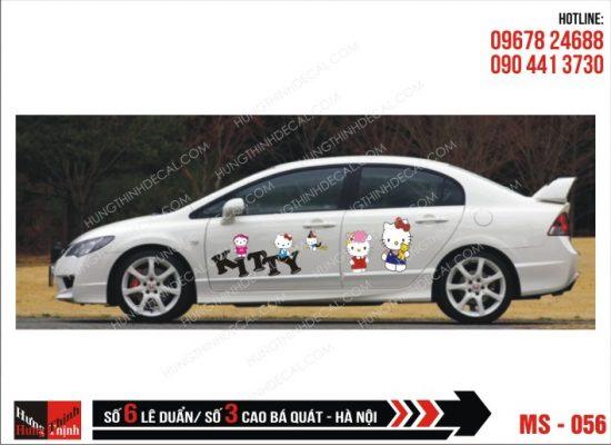 Tem Xe ô tô 4 chỗ - 056