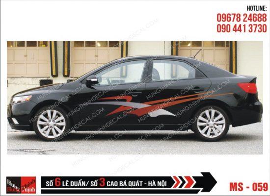 Tem Xe ô tô 4 chỗ - 059