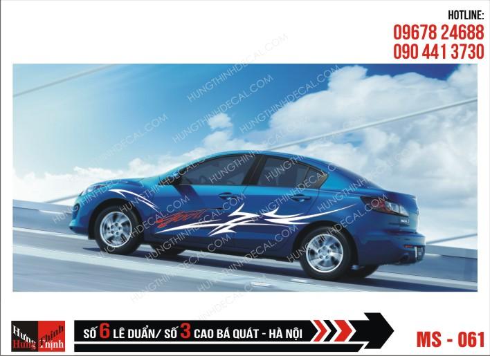 Tem Xe ô tô 4 chỗ - 061