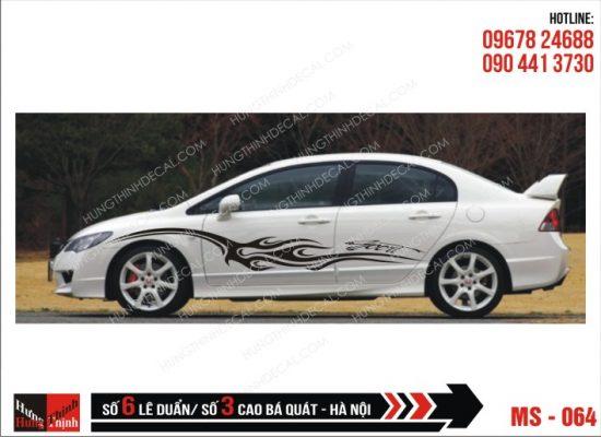 Tem Xe ô tô 4 chỗ - 064