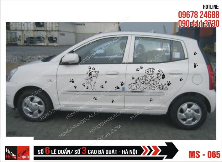 Tem Xe ô tô 4 chỗ - 065