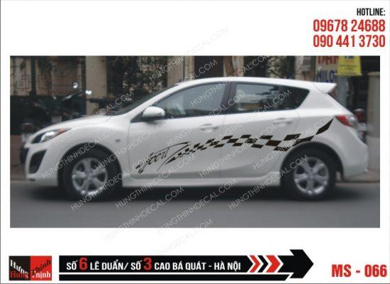 Tem Xe ô tô 4 chỗ - 066