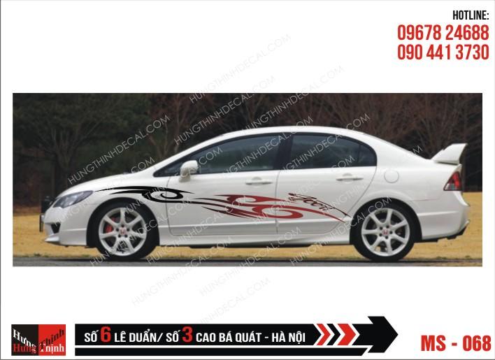 Tem Xe ô tô 4 chỗ - 068