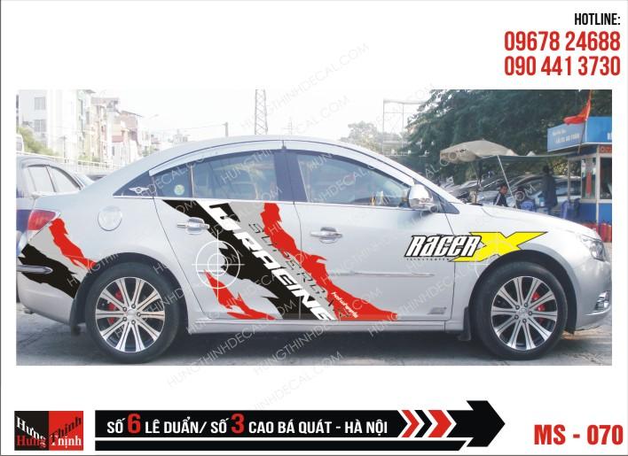 Tem Xe ô tô 4 chỗ - 070