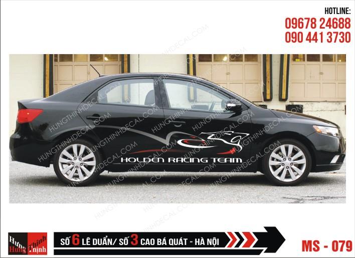 Tem Xe ô tô 4 chỗ - 079