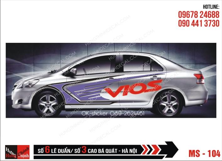 Tem Xe ô tô 4 chỗ – 104