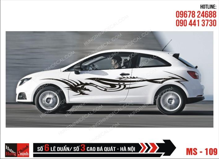 Tem Xe ô tô 4 chỗ – 109