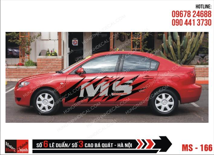 Tem Xe ô tô 4 chỗ – 166
