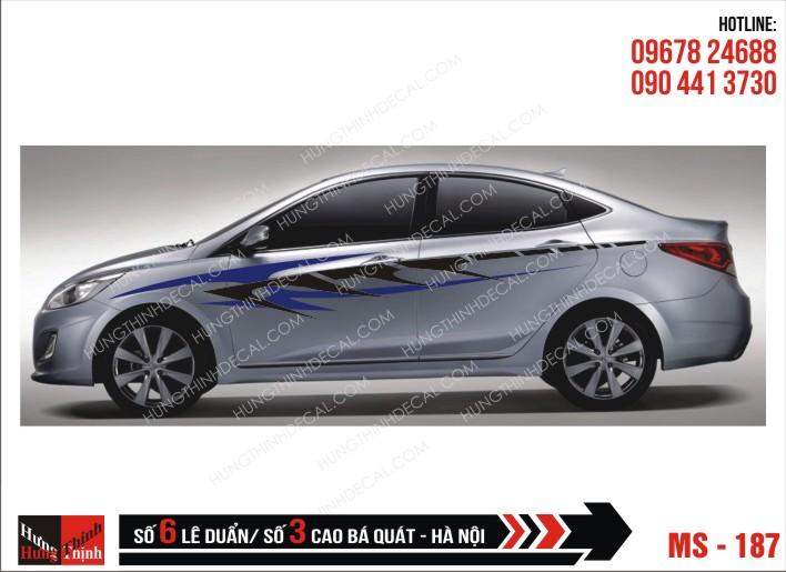 Tem Xe ô tô 4 chỗ – 187