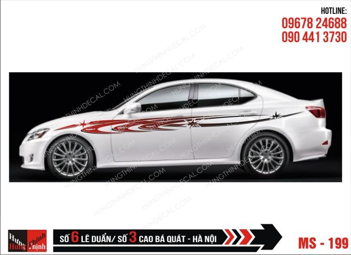 Tem Xe ô tô 4 chỗ – 199