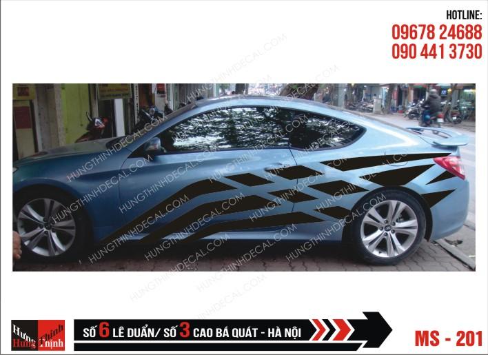 Tem Xe ô tô 4 chỗ – 201
