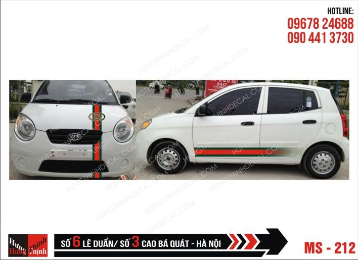 Tem Xe ô tô 4 chỗ – 212