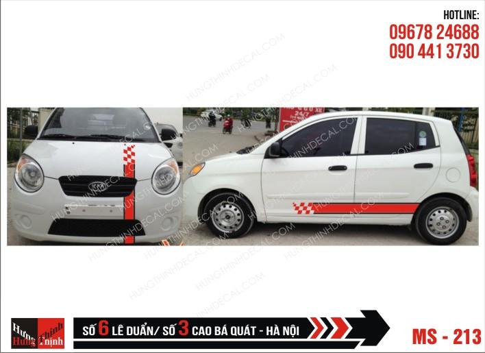 Tem Xe ô tô 4 chỗ – 213