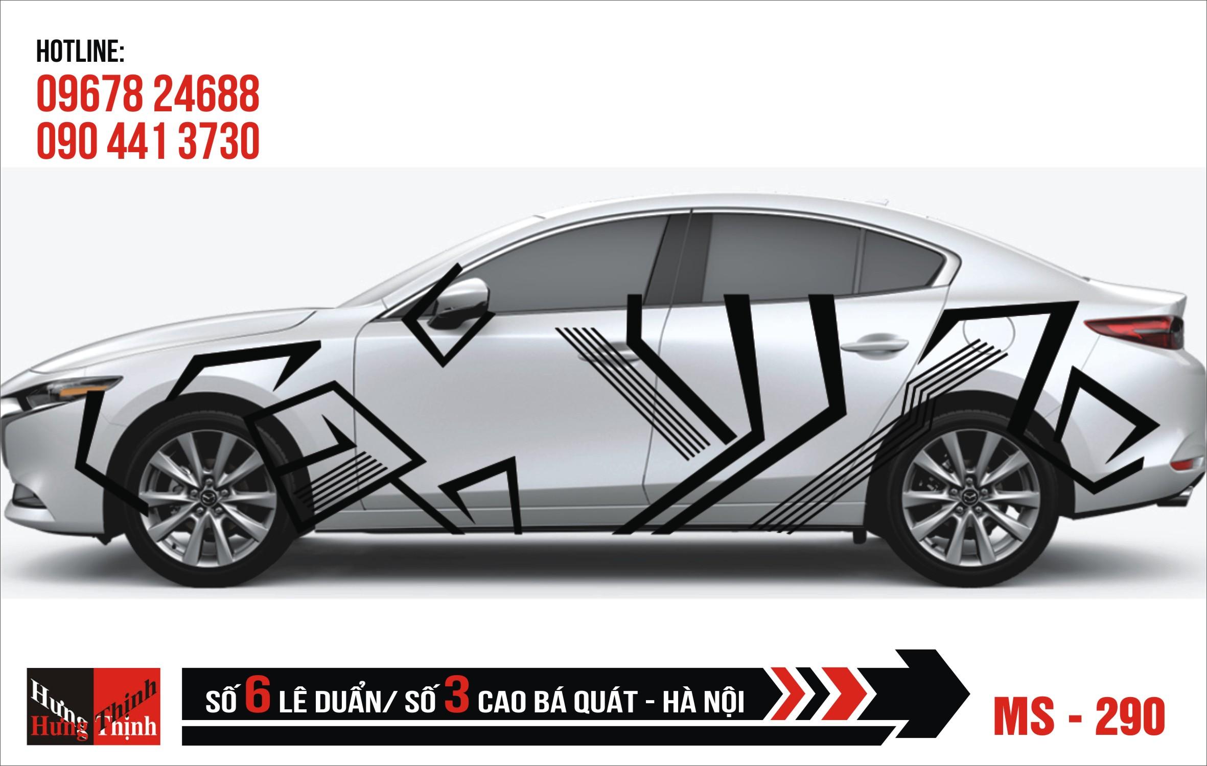Tem Xe ô tô 4 chỗ – 290
