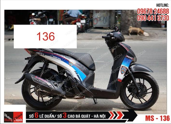 Tem Xe SH 136