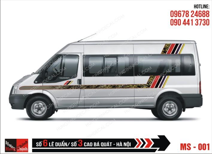 Tem Xe Ô Tô 16 Chỗ - 001