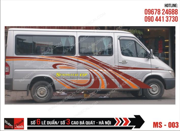 Tem Xe Ô Tô 16 Chỗ - 003