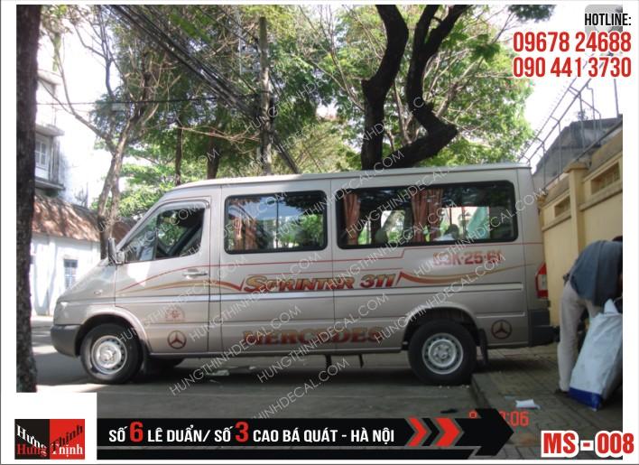 Tem Xe Ô Tô 16 Chỗ - 008